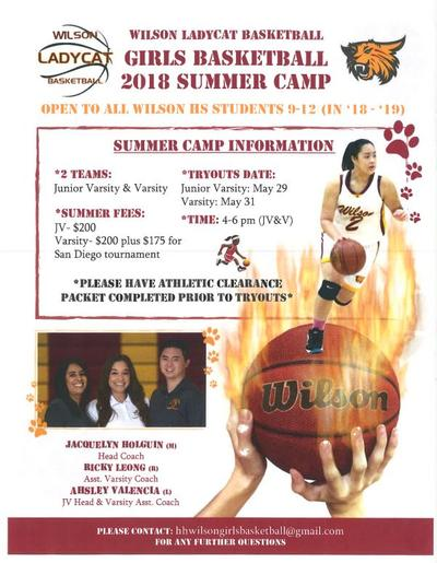 Wilson Summer Basketball 2018